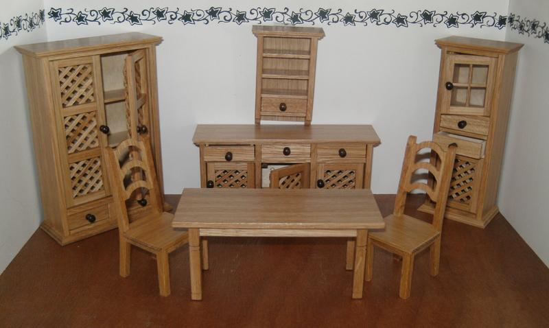 Hacienda wohnzimmer set puppenstube leithner for Wohnzimmer set